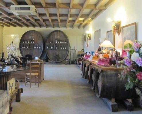 Vin de Chinon - Le caveau